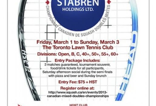 TGG SPONSORS THE CANADIAN MIXED DOUBLES